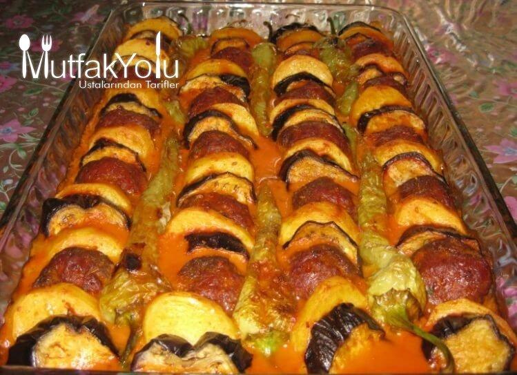 Fırında Patlıcan Köfte Tarifi