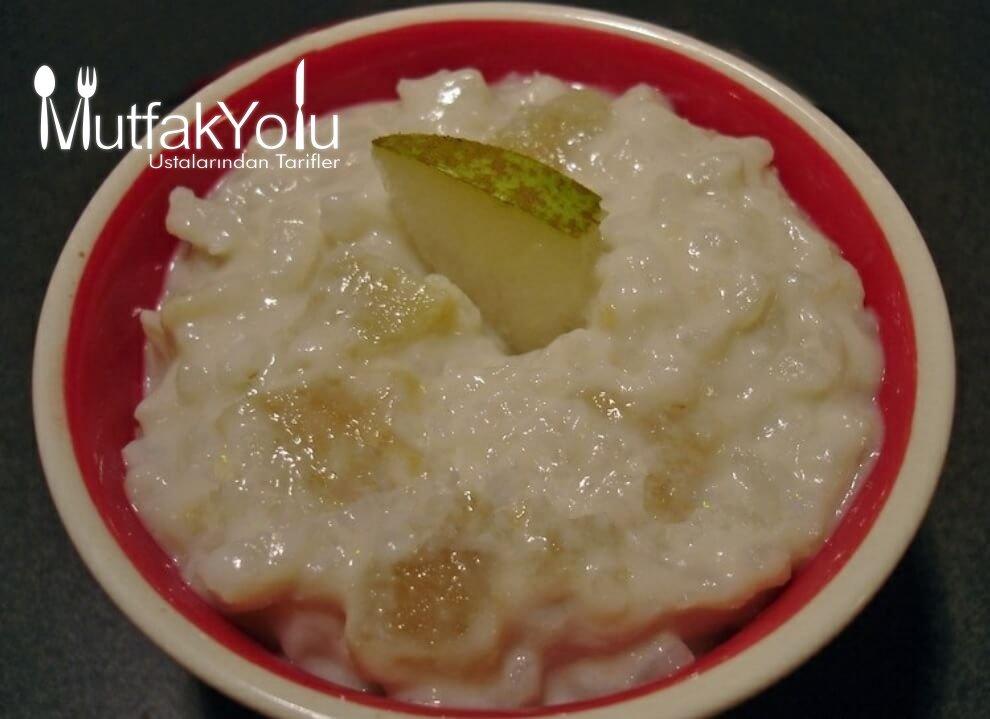 Pirinçli Armut Tatlısı Tarifi