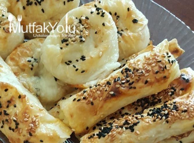 Patatesli Peynirli Kolay Börek Tarifi