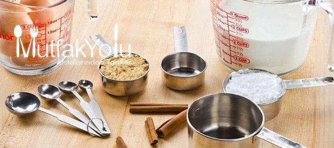 mutfak ölçü birimleri