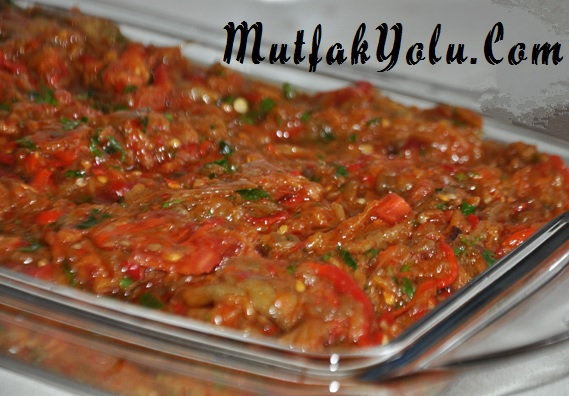 Antep Patlıcan Salatası (Babagannuş)