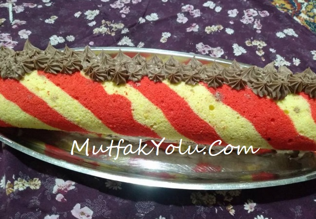 Benekli Rulo Pasta Tarifi
