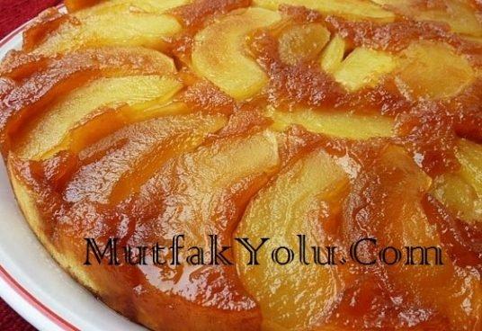 Karamelli Elmalı Kek Tarifi