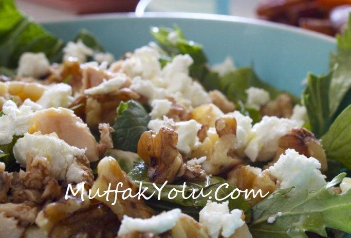 Keçi Peyniri Salatası Tarifi