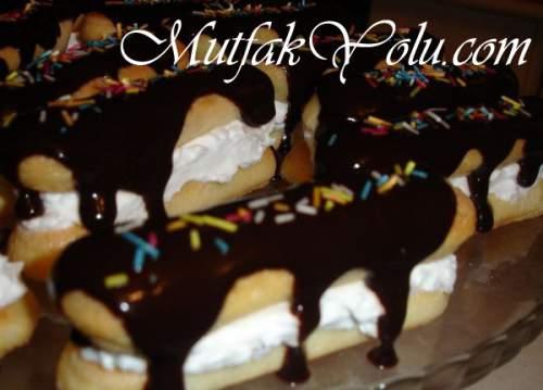 Çikolatalı Kedi Dili Pasta Tarifi