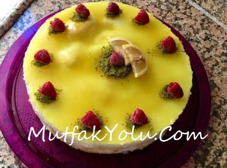 Limonlu Kedidilli Pasta Tarifi