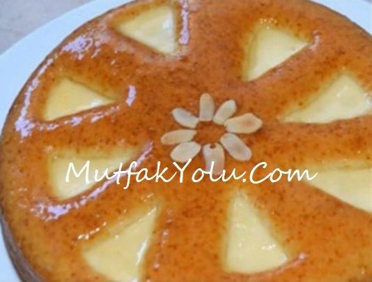 Portakalı Üçgen Peynirli Kek Tarifi