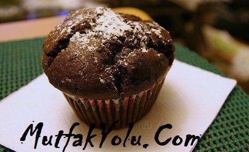 Pudingli Muffin Kek Tarifi