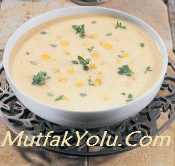 Yoğurtlu Mısır Çorbası Tarifi
